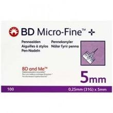 5 mm BD Micro- fine +