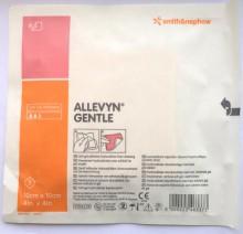 Allevyn GENTLE Gel Adhesive Hydrocellular Foam Dressing 10cm x 10cm - SINGLE